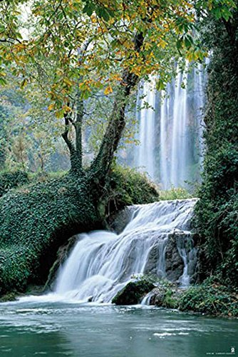 Poster Wasserfall in