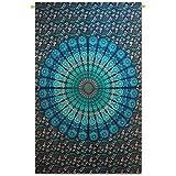 """Handicrunch tapicería de la pared de algodón mandala indio colgando hippie decoración tapices de pared 84 """"x 56"""""""