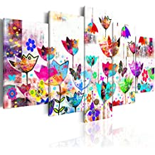 murando® Cuadro en Lienzo 200x100 cm! 5 partes - Grande Formato - Impresion en calidad fotografica - Cuadro en lienzo tejido-no tejido - Abstraccion 020101-171 200x100 cm