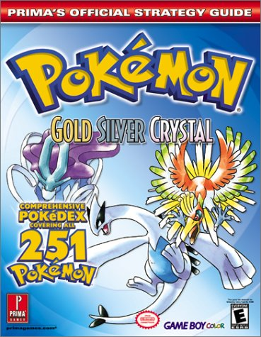 Pokemon Gold, Silver, and Crystal
