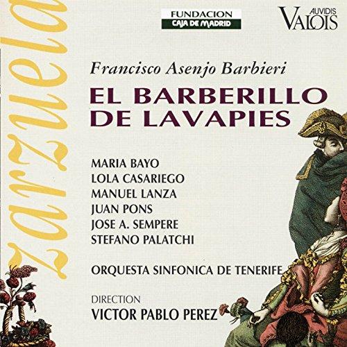 El Barberillo de Lavapies, Act III: Aquí estoy ya vestida (Marquesita, Paloma