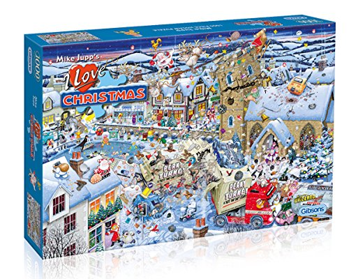Gibsons - Puzzle I Love Christmas, 1000 pz.