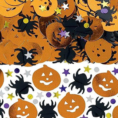 amscan International 999759Metallic Halloween Mix Konfetti, 14g
