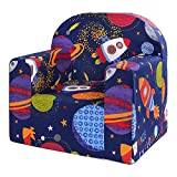 LULANDO Classic Kindersessel Babysessel Kindercouch Mini Sessel Kindermöbel für Spielzimmer und Kinderzimmer. Farbe: Kosmos