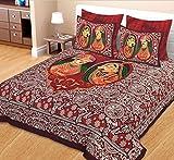 Jaipuri Sanganeri Print Cotton Bedsheet ...