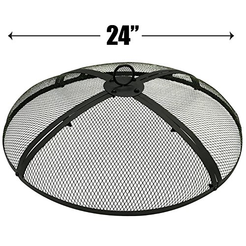 EasyGoProducts EGP-FIRE-002 EasyGo 24 Zoll Pit Cover - Fire Screen Protector 24