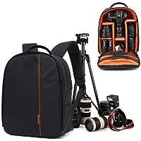 AMPLE ITALIA DSLR SLR Backpack Camera Bag   Camera Lens Shoulder Backpack Case for Canon Nikon   Lens Accessories Carry Backpack Case