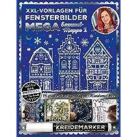 XXL Vorlagen für Fensterbilder, Mega Sammelmappe 1 von Bine Brändle