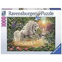 Ravensburger-19793-Mystisches-Einhorn Ravensburger Puzzle  19793 – Mystisches Einhorn – 1000 Teile -