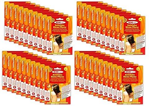 40x Wärmepflaster 13 x 15cm Schmerzpflaster Wärmepads Rheumapflaster Rücken (Voltaren Salbe)