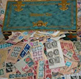 Goldhahn Deutschland bis 1955 Uralt-Kiloware aus Nachlass-Schatulle Briefmarken für Sammler