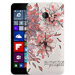 Digione Back Replacement Texture Plastic Cover Panel Battery Cover Snap on Case Cover for Nokia Microsoft Lumia 640XL ID:640XL533