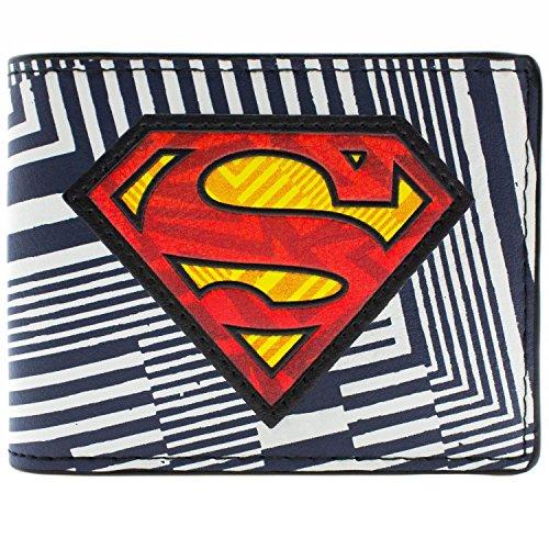 DC Comics Superman Rayé Multicolore Portefeuille