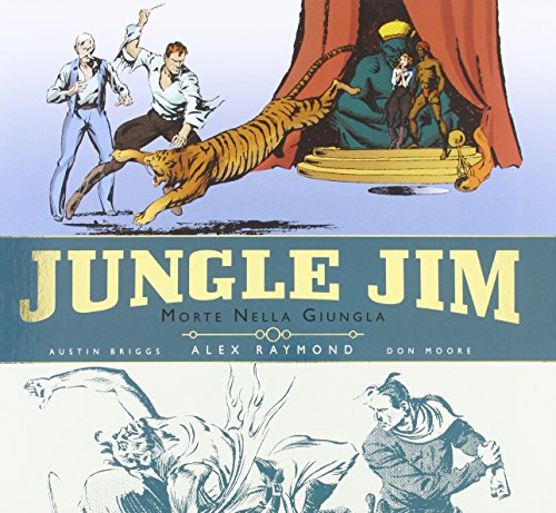 Morte nella giungla. Jungle Jim. Tavole domenicali 1934-1944