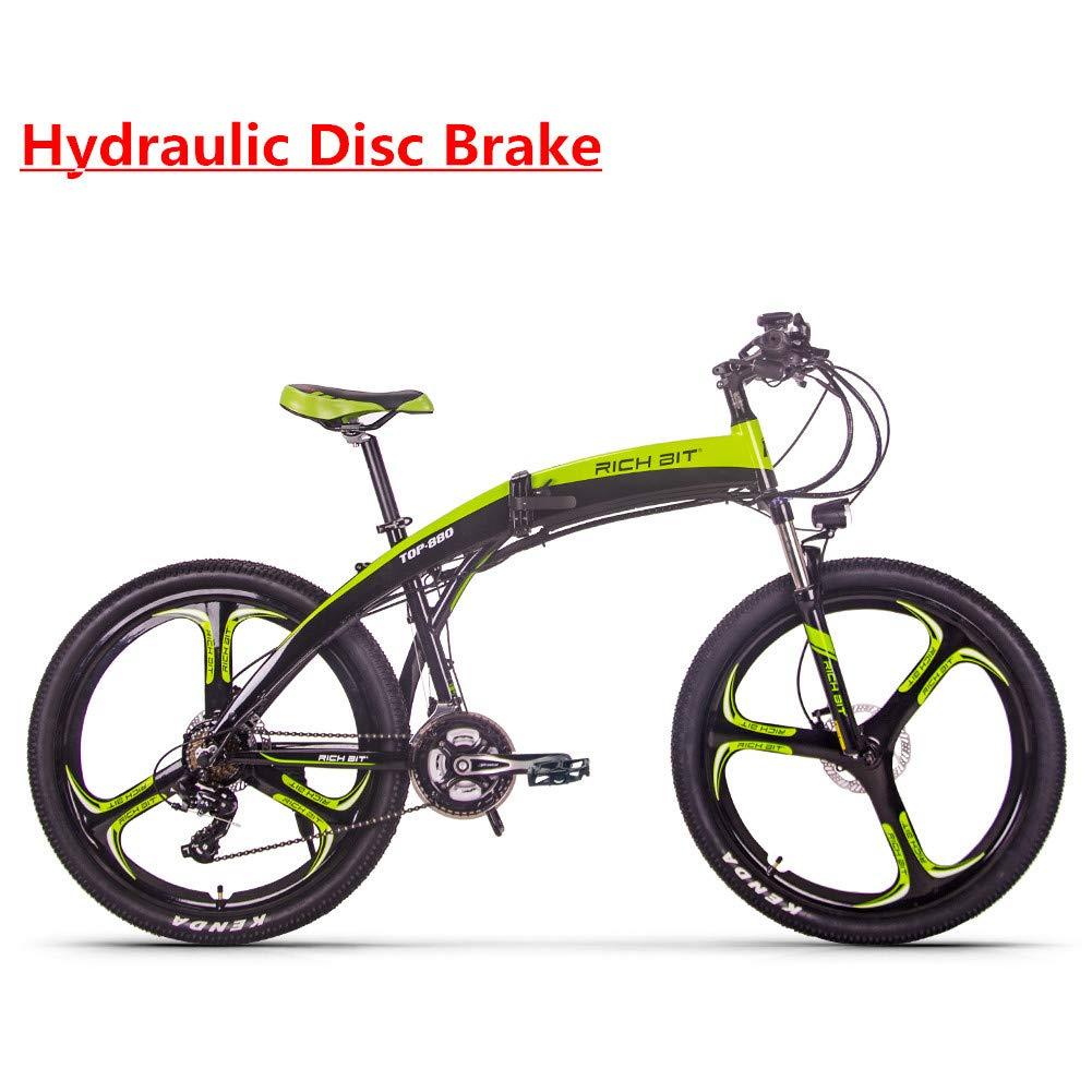 RICH BIT RT-880 E-Bike 250W * 36V * 9.6Ah Aktualisiert Faltreifen Bike Mountainbike MTB LCD Kleine Computer Smart Elektrische Fahrrad Shimano 21-fach Hydraulische Scheibenbremse CE-Zertifizierung