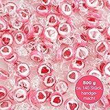 500 g Rocks Herz-Bonbons - süße Tisch-Deko zu Hochzeit Taufe