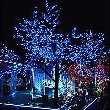 DulceCasa 20m 200 LEDs Guirlande Lumineuse Rideau Lumi¨re 8 modes