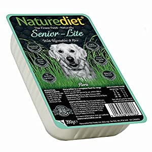 Naturediet Senior/Lite 390 g (Pack of 18)