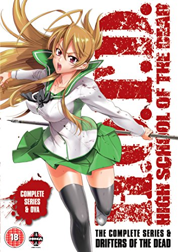 High School of the Dead: Drifters Of The Dead Edition (Series & OVA) [DVD] [UK Import] (School Dead High Of)