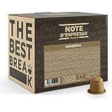Note D'Espresso - Ginseng - Preparato Solubile - Capsule compatibili con sistema Nespresso* - 100 Caps
