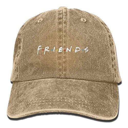 Xukmefat Friends TV Show Adult Hats Unisex Fashion Plain Cool Adjustable Denim Jeans Baseball Cap Cowboy ()