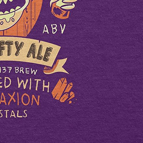 NERDO - Crazy Rick's Schwifty Ale - Damen T-Shirt Violett