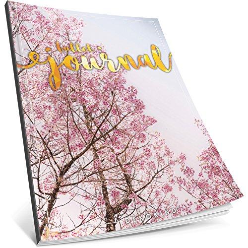 Dékokind Bullet Journal: Ca. A4-Format 100 Seiten, Punktraster Notizbuch mit Register Dotted Grid Notebook, Punktkariertes Papier, Zeichenbuch ArtNr. 26 Frühlingsaft Vintage Softcover
