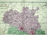Map Shropshire England Shrewsbury Ellesmere Drayton