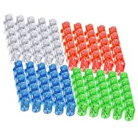 Syolee LED Finger Lights 100pcs Super Bright Finger Flashlight Ideal for Toys Party Favor Supplies