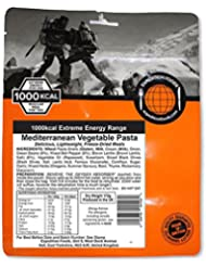 Expedition Foods Unisex mediterráneo verduras Pasta, naranja, 1000Kcal