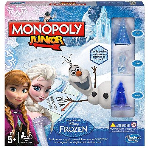 Hasbro Rocco Juguetes - Frozen Monopoly Junior