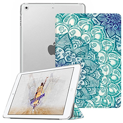 Fintie iPad Mini Hülle - Ultradünne Superleicht Schutzhülle mit transparenter Rückseite Abdeckung Cover mit Auto Schlaf/Wach Funktion für Apple iPad Mini/iPad Mini 2 / iPad Mini 3, smaragdblau (Fintie Ipad Mini 2 Case Tastatur)