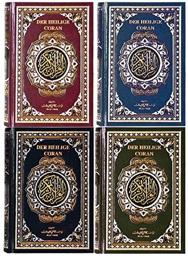 Der koran auf Arabisch + Deutsch + Transkription Lautschrift (Quran Qoran Coran Kuran), Ideal für Anfänger - Den Koran auf Arabisch lesen ohne Arabisch zu können