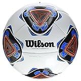 Wilson Forte Fybrid II Pelota De Fútbol, Unisex Adulto, White/Blue, Talla Única