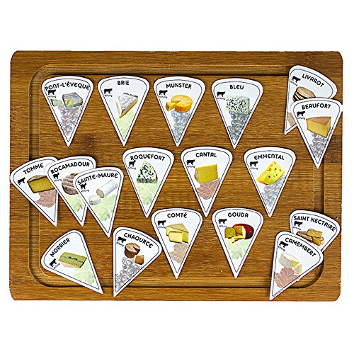 Maison Futée Étiquettes à fromages - Lot de 20