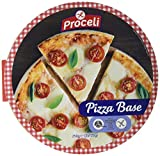 Proceli Base Pizza Sin Gluten - Paquete de 2 x 125 gr - Total: 250 gr - [Pack de 6]
