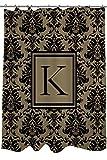 Telecharger Livres Manuel Woodworkers et Weavers Rideau de douche ornee d un Monogramme Lettre K Damas Noir et Dore (PDF,EPUB,MOBI) gratuits en Francaise