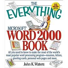 Everything Word 2000 (Everything Series)