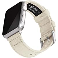 Archer Watch Straps - Cinturini Ricambio di Tela per Apple Watch, Uomini e Donne - Vari Colori, 38/40mm, 42/44mm