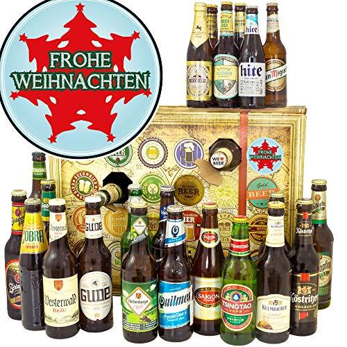 Frohe Weihnachten / 24 Biere der Welt und Deutschland