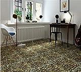 PLYY Pebble Carpet Floor Sticker Shop Home Dekoration kleber fliesenboden Aufkleber
