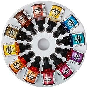 Dr. Ph. Martins Bombay India Ink Set - 30ml bottle Set 2 (Colours 13-24)
