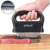 Meat Tenderizer, 48 Stainless Steel Ultra Sharp Needle Blade Tenderizer for Tenderizing Steak