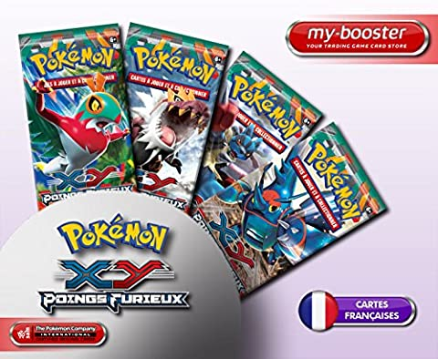 9x Booster Pokemon XY03 Poings Furieux Français