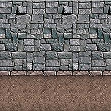 Beistle Dirt Floor Backdrop, 4-feet by 30-feet