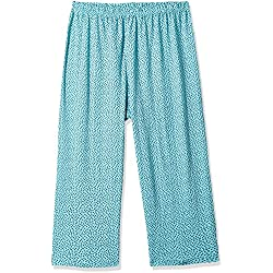 Shyla by Fbb Women's Cotton Pyjama Bottom (1000616637015_Blue_XXL)