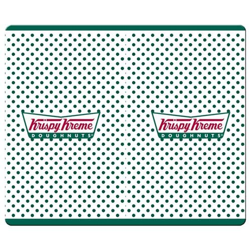 26x21cm-10x8inch-personal-mousepads-smooth-cloth-antiskid-rubber-water-resistant-non-skid-krispy-kre