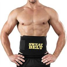 Dreams Imaging Solutions Waist Trimmer/ Fat Burner/ Belly Tummy Yoga Wrap/ Exercise Body Slim Look Belt, Free Size (Black)