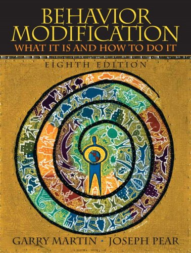 Behavior Modification: What It Is And How To Do It: United States Edition