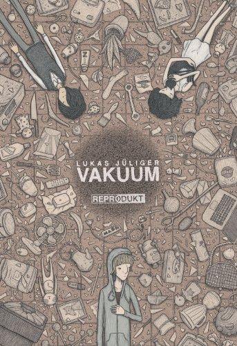Buchseite und Rezensionen zu 'Vakuum' von Lukas Jüliger